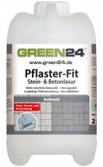 Pflaster-Fit Farbe Betonpflaster Naturstein Stein- & Beton-Lasur Anstrich Anthrazit 2 Liter