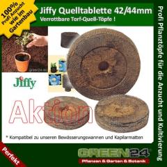 Jiffy-Torfquelltöpfe 44mm Mengenrabatt - Karton 1000 Stck.