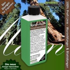 Sequoioideae, Sequoia, Sequoiadendron, Metasequoia Plant Food 250ml