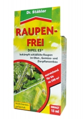Raupen-Frei DIPEL ES 15ml gegen Raupen / Buchsbaumzünsler