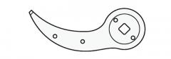 Felco 2/4 Gegenklinge mit Nieten