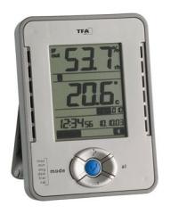 Funk Thermometer Hygrometer Außensender